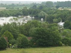 View of Ranworth Broad, Ranworth, Norfolk Broads, Norfolk, England