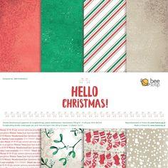 Zestaw papierów - Hello Christmas! 30x30cm
