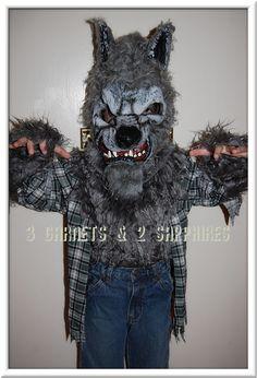 Scary Child's Werewolf Costume #Halloween