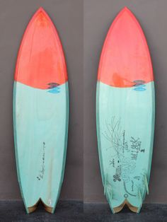 6'2 Hess Singer   Super clean Danny Hess Singer model quad fish with T Moe art!     A collaborative design and concept with Thomas Campbell. Pulled in nose and tail in combination with narrower template allowing for tighter transitions and more hold in critical parts of the wave.