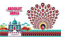 ABSOLUT INDIA - Bottle Design on Behance