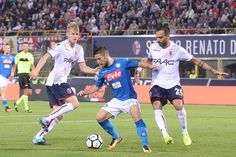 #Helander Dries Mertens of SSC Napoli in action during the Serie A match between Bolgna FC and SSC Napoli at Stadio Renato Dall'Ara on September 10, 2017 in Bologna, Italy..2:10