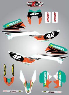 KTM Enduro 690R 2012 - 2015 Custom Graphic Kit STRIKE STYLE stickers decals | eBay Ktm 690 Enduro, Kit, Vintage Motorcycles, Motogp, Decals, Ebay, Drawings, Barrel, Colors