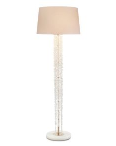 Cascading Crystal Waterfall Floor Lamp - Floor Lamps - Portable Lighting - Lighting - Our Products