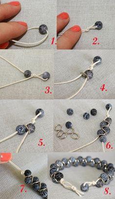 Oksana Plus Hobbies: DIY: Zigzag Bracelet (Сделай сам: Браслет . - Oksana Plus Hobbies: DIY: Zigzag Bracelet (Сделай сам: Браслет Зиг-заг) - bisuteria Wire Jewelry, Jewelry Crafts, Beaded Jewelry, Jewelery, Jewelry Ideas, Jewellery Box, Hippie Jewelry, Jewelry Findings, Jewellery Shops