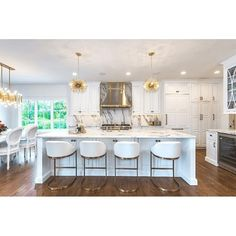A White Kitchen In The Signature U201cedgy Traditionalu201d Style Of St. Louis  Interior