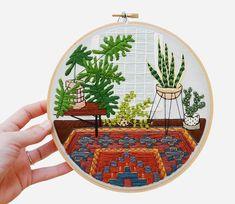 Embroidery by Sarah K. Benning / Занимательная ботаника на пяльцах: потрясающие вышивки Sarah K. Benning - Ярмарка Мастеров - ручная работа, handmade
