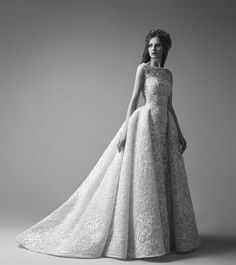 Stunning Wedding Gown Collection: SAIID KOBEISY | ZsaZsa Bellagio - Like No Other