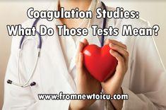 How To Interpret Your Coagulation Studies