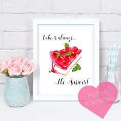 """A Gorgeous Super Girly Art Print perfect for adding a touch of glamour and femininity to any room in your home!    Available in three sizes:    5x7"""", 8x10"""", A4 UK or as a digital download!!    Visit my stunning Home Decor Etsy Shop www.iknowimperfect.com"""