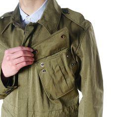 Parachute Jacket - 2 Olive