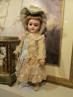S F B J Depose BEBE French Doll 19 in Tall Perfect Bisque | eBay