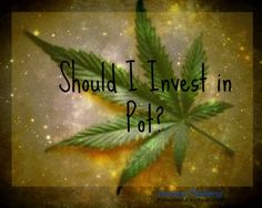 Should I Invest in Pot? | Barbara Friedberg