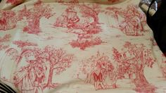 A lovely French pattern for cushions don't ya think! 'Elsie