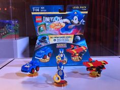 Over at San Diego Comic Con 2016 for Sonic the Hedgehog's Anniversary Party, TT Games has revealed the new LEGO Dimensions Sonic the Hedgehog Level Pack Anniversary Parties, 25th Anniversary, Sonic The Hedgehog, Chaos Emeralds, Speed Games, Sonic Birthday, Transformer Birthday, Lego, Golden Ring