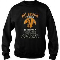 THE BEST GIFT FOR SALON MANAGER ON HALLOWEEN CREW SWEATSHIRTS T-SHIRTS, HOODIES  ==►►Click To Order Shirt Now #Jobfashion #jobs #Jobtshirt #Jobshirt #careershirt #careertshirt #SunfrogTshirts #Sunfrogshirts #shirts #tshirt #hoodie #sweatshirt #fashion #style