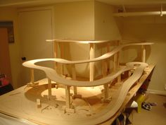 Warping because of no paint on the underside of MDF? - Slot Car Illustrated Forum
