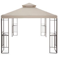 Outdoor Oasis™  Gazebo ($450) ❤ liked on Polyvore featuring home, outdoors, outdoor decor, outside garden decor, outdoor patio decor and outdoor garden decor