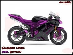 Purple bike my bike! I will own a bike like this!! JUST like this! :)