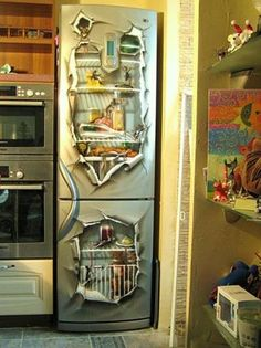 fridge door decorating ideas