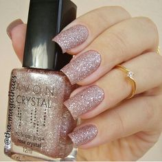 Unhas Artísticas, Unhas Decoradas, Unhas Com Pedras E Adesivos De Unhas Perfect Nails, Gorgeous Nails, Love Nails, How To Do Nails, Fun Nails, Avon Crystal, Crystal Shop, Crystal Nails, Trendy Nail Art