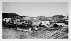 Shop On The Canal Singapore - 1907 Print created by TheDigitalConsultant. Poster Prints, Posters, South Wales, Custom Framing, Singapore, Surface, Smooth, Photograph, History