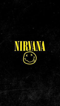 Nirvana wallpaper edited by me Grunge? Nirvana logo