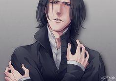 Severus Snape by jill_s_alg
