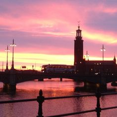 Stockholm - view of the city hall. Photo by aaglert