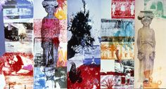 Robert Rauschenberg Pop Art Collage