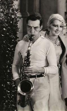 Bustee Keaton Saxophone.