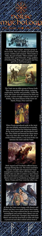 The Aesir and the Vanir