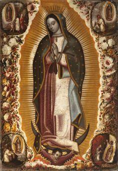 Virgin of Guadalupe  /  Manuel de Arellano