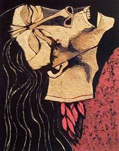 Rosa Zárate, Decapitated Flower - Oswaldo Guayasamin