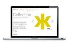 Keaykolour website by Blast, London