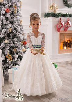 Vintage Long Sleeves Lace Ball Gown Baby Girl Birthday Party Christmas Princess Dresses Children Girl Party Dresses Flower Girl Dresses Girls Flower Girl Dresses Gold Flower Girl Dresses From Weddingmall, $58.08  Dhgate.Com