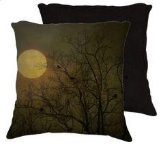 beautiful moonlight pillow by Robin