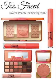 Too Faced Sweet Peach for Spring 2017 is showing on the http://Sephora.com and http://Ulta.com site 12/15/16 (Best Blush Peach)