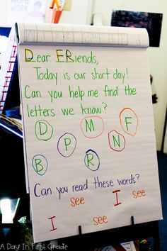 A Day In First Grade-29