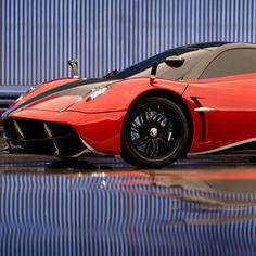 'God of Wind' Pagani Huayra Autobot Revealed on Transformers 4 Set -- This 2013 blood red masterpiece of design and engineering will help fight off a new threat in director Michael Bay's franchise sequel. -- http://wtch.it/wKjM7