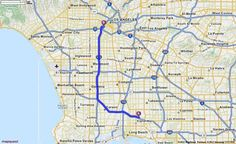 Driving Directions from Long Beach Airport in Long Beach, California 90806 to 213 in Los Angeles, California 90015 | MapQuest