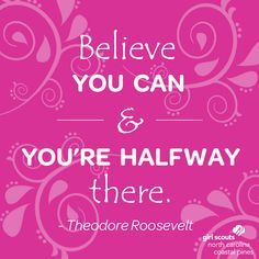 Girl Scouts can do anything when they believe in themselves and their dreams! #SundayInspiration