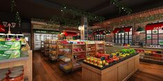 Horison Hotel's Convenience store design for PT. Retro Indonesia