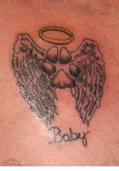 cat memorial tattoo | Pet Memorial Tattoos Page 27