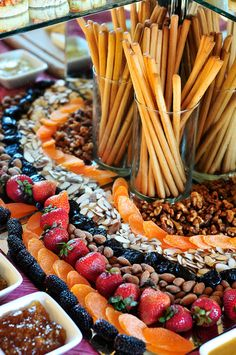 Fruit and Nut Bar by Premiere Catering