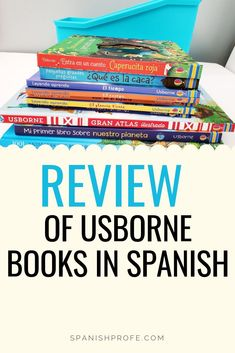 Usborne just recently came out with a wide selection of illustrated books in Spanish. Read our review and get a peek at the inside of several of the Usborne books in Spanish. Great for bilingual teachers, bilingual parents and homeschools. The books have great illustrations and engaging for young bilingual children. #usbornespanish