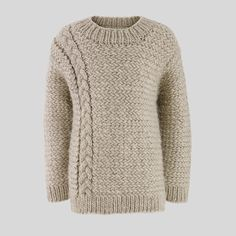 pullover / herring stitch