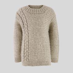 shop knitwear, fair london, cabl knit, tan cabl, knit jumper, crochet, jumpers, london cabl, boy