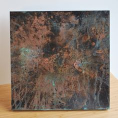 Copper Patina Wall Art (Various)