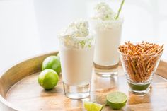 Creamy vanilla ice cream blended with fresh lime juice, orange liqueur and of course tequila, for a surprisingly delicious grown up treat.